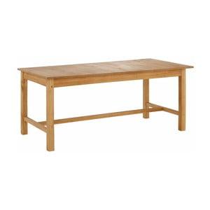 Prírodný rozkladací jedálenský stôl z borovicového dreva Støraa Randy, 100 x 220 cm
