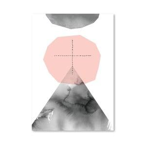 Plagát Pale Mountain Journey, 30x42 cm