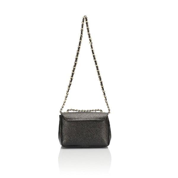 Kožená kabelka Giorgio Costa 15013 Black