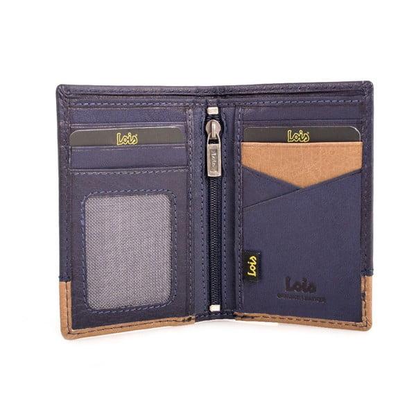 Kožená peňaženka Lois Mood, 11x8 cm
