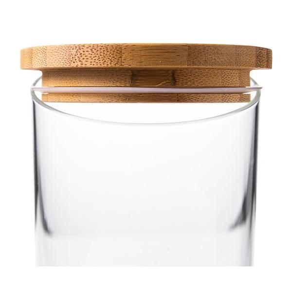 Sklenená dóza Krauff Glass, 23 cm