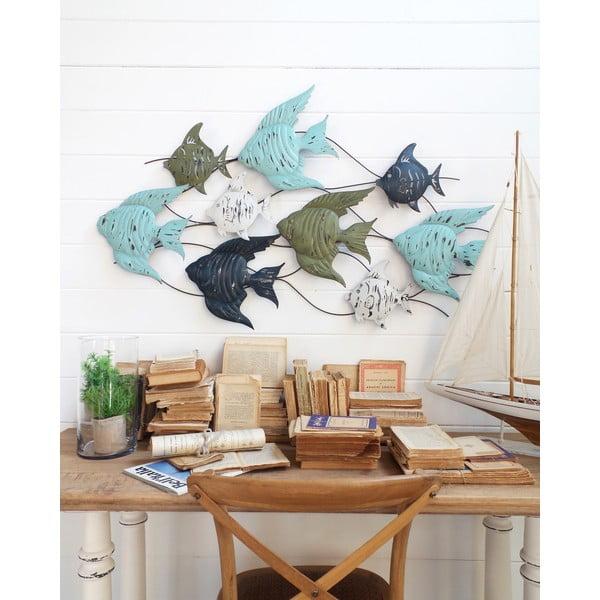 Nástenná dekorácia Fish Pannel Ocean Blue