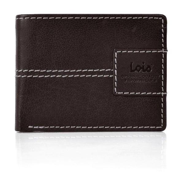 Kožená peňaženka Lois Brown, 10,5x7,5 cm