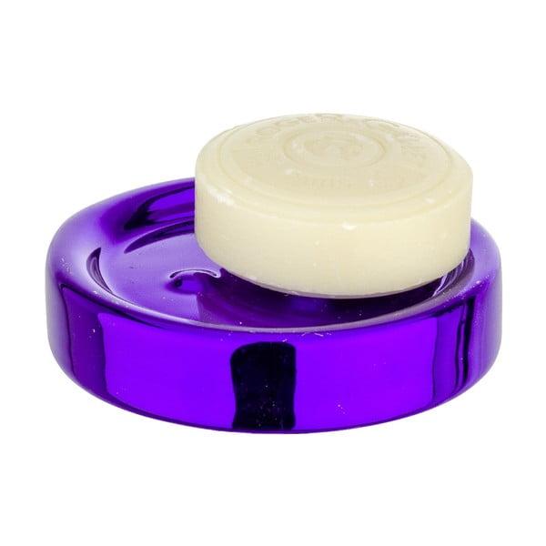 Tacka na mydlo Purple Metallic