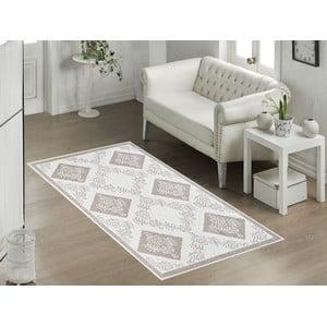 Béžový odolný koberec Vitaus Azalea, 60x90cm