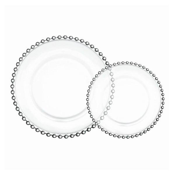Sada 4 tanierov Pearls, 26,5 cm
