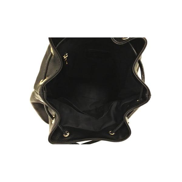 Kožený batoh Era Black