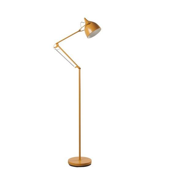 Žltá stojacia lampa Zuiver Reader