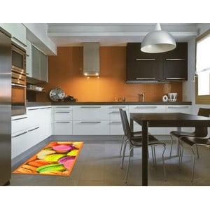 Vysokoodolný kuchynský koberec Webtapetti Macarons, 60 x 115 cm