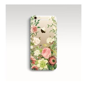 Obal na telefón Floral II pre iPhone 5/5S