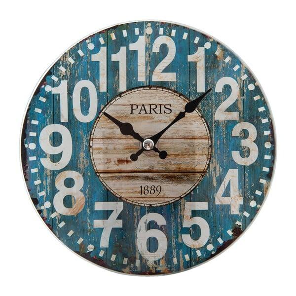 Nástenné hodiny Clayre & Eef Paris Café