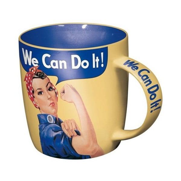 Keramický hrnček We Can Do It,330ml