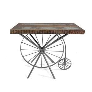 Konzolový stolík z masívneho dreva SOB Bike