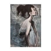 Autorský plagát od Lény Brauner Slečna Rakatamizau, 45x60cm