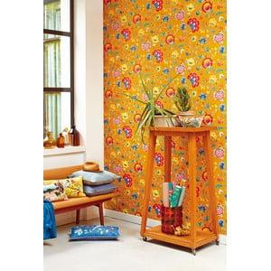 Tapeta Pip Studio Floral Fantasy, 0,52x10 m, žltá