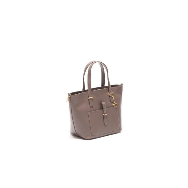 Kožená kabelka Thier 3005 Fango