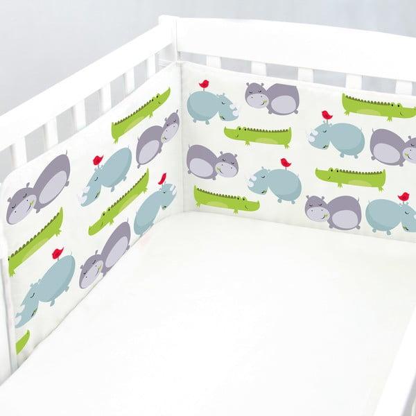 Výstelka do postieľky Hippo, 70x70x70 cm
