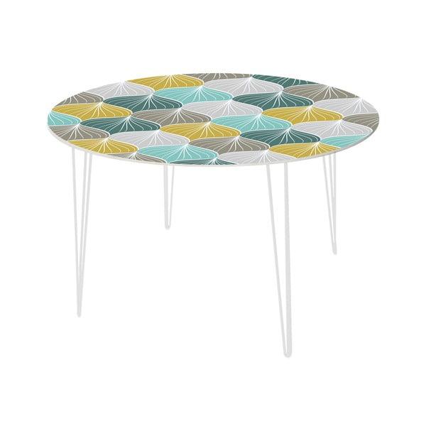 Jedálenský stôl Fish Tails, 120 cm