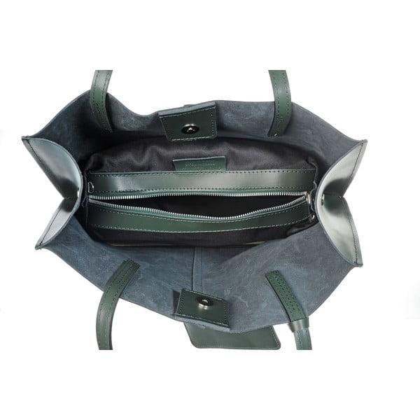 Kožená kabelka Yes Mood Green