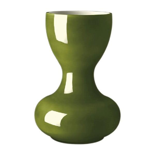 Váza Ballone 38 cm, olivová