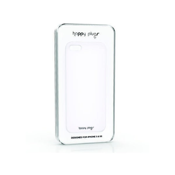 Kryt Happy Plugs na iPhone 5/5S, biely