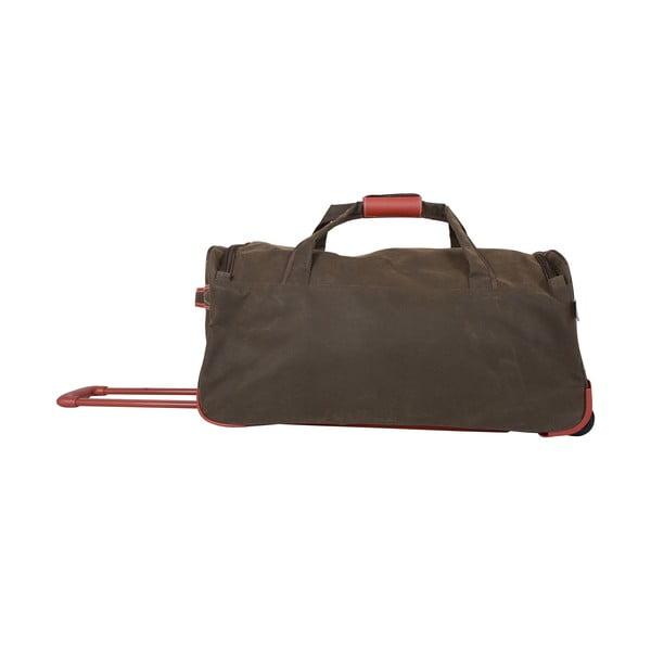 Cestovná taška na kolieskach Jean Louis Scherrer Khaki, 76.5 l