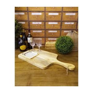 Drevené doska na krájanie Orchidea Milano Wood Board, dĺžka 60 cm
