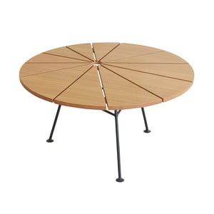 Hnedý odkladací stolík OK Design Bambam, Ø70 cm