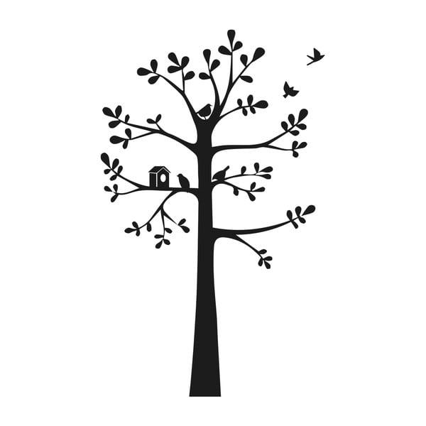 Nástenná samolepka Tree & Birdies