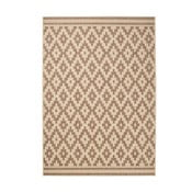 Hnedý koberec Think Rugs Cottage, 120×170cm