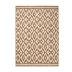 Hnedý koberec Think Rugs Cottage, 120x170cm