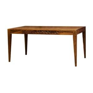 Jedálenský stôl z palisandrového dreva Massive Home Rosie, 175x90cm