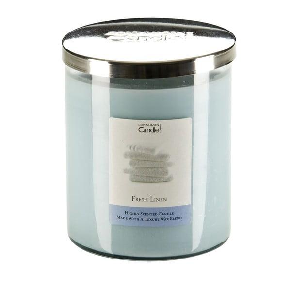 Aromatická sviečka s vôňou čerstvo vypranej bielizne Copenhagen Candles, doba horenia 70hodín