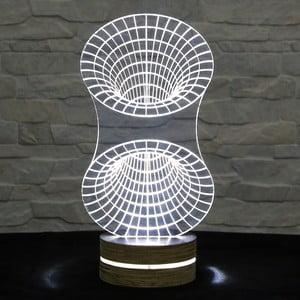 3D stolová lampa Tunnel