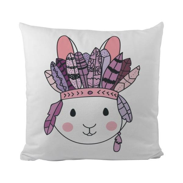 Vankúš Bunny From Tribe, 50x50 cm