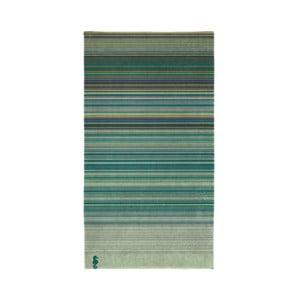 Zelená bavlnená osuška Seahorse Shells Sunset, 200×100cm