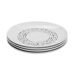 Sada 4 porcelánových tanierov Sola Lunasol, 20,5cm