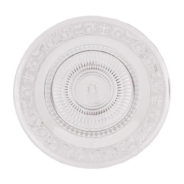 Sklenený tanier Clayre, 33 cm