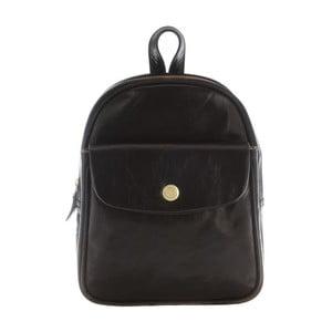 Kožený batoh Eliza Black
