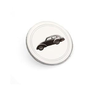 Brošňa Čierne autíčko Monsieur Chic od Lucie Markovej