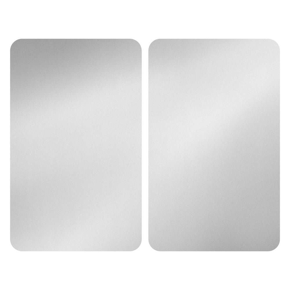 Set 2 sklenených krytov na sporák Wenko Universal Silver