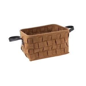 Hnedý úložný košík Present Time Storage