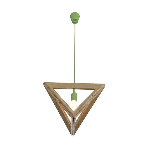 Závesné svietidlo Triangle Green