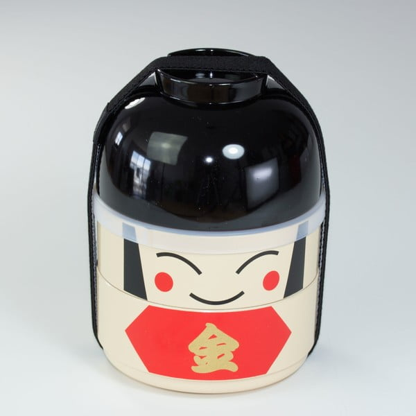 Detský desiatový box Kokeshi Warrior, 440 ml