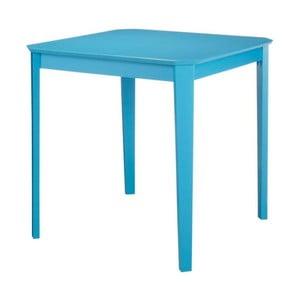 Modrý jídelní stůl Støraa Trento, 76x75cm