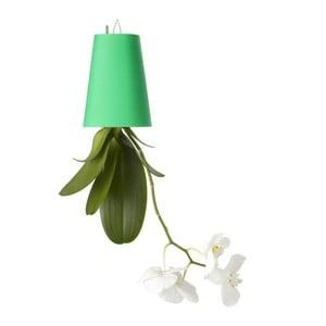 Outdoor lietajúci kvetináč Sky Planter, malý zelený