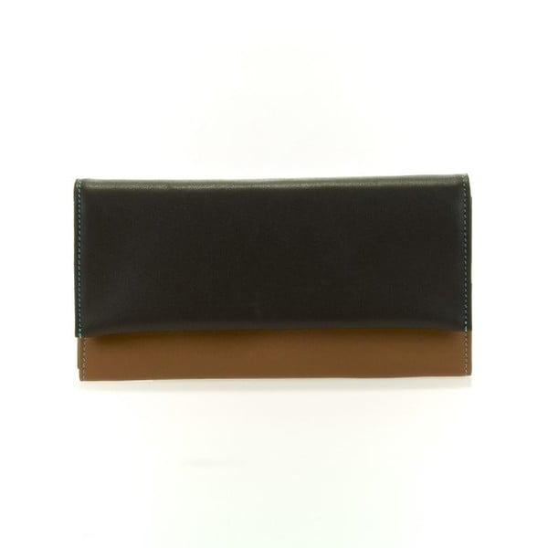 Peňaženka a obal na kreditné karty Matinee Brown/Blue