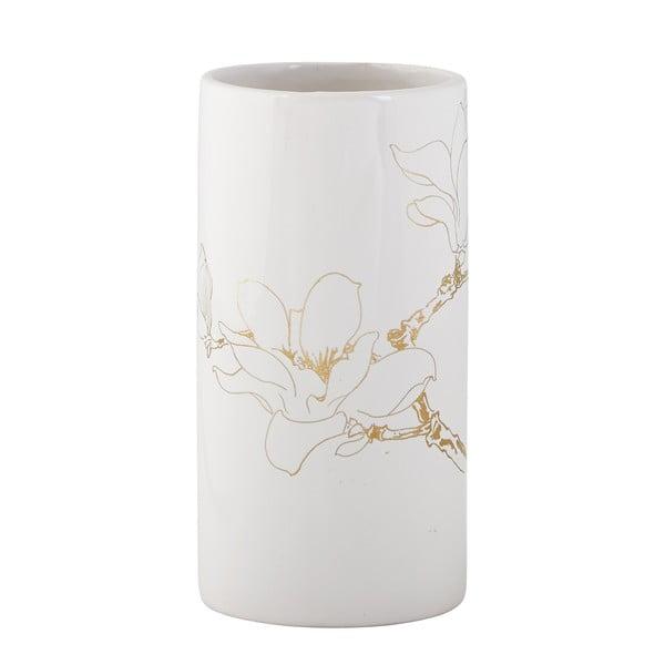 Dekoratívna váza s kvetinou
