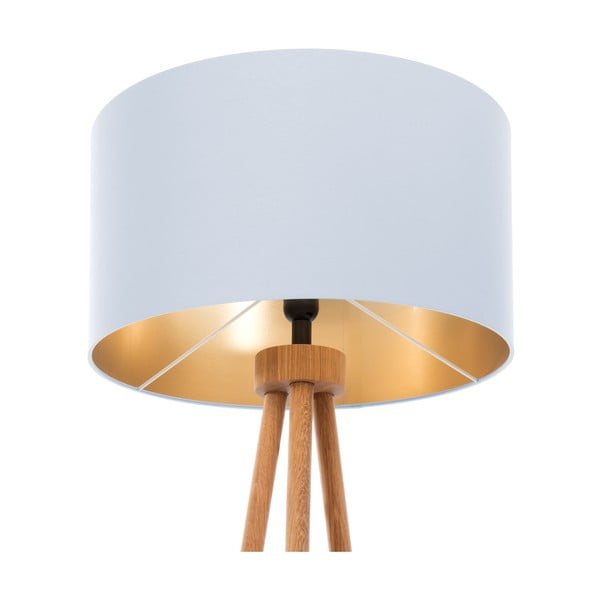 Stojacia lampa Gold Inside Ice Blue