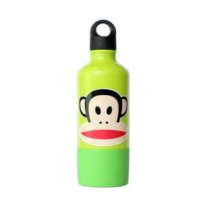 Fľaša s hrnčekom LEGO® Paul Frank, zelená